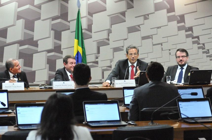 O presidente da Comissão de Juristas da Desburocratização, Mauro Campbell, foi quem apresentou a ideia