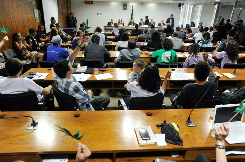 Audiência sobre uso da maconha, realizada em 13 de outubro de 2014 por sugestão recebida por meio do e-Cidadania