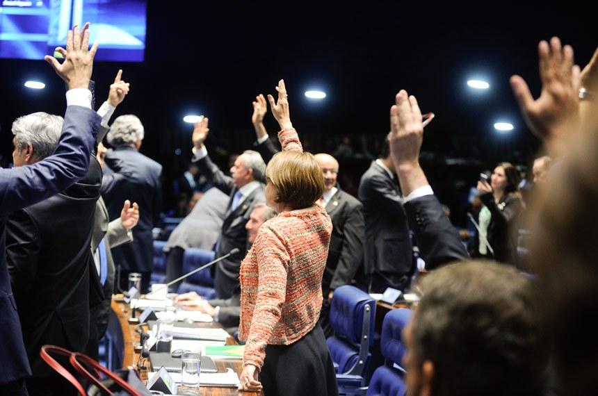 Mesmo aprovado, o texto enviado pela Executivo e modificado na Câmara dos Deputados foi bastante criticado em Plenário