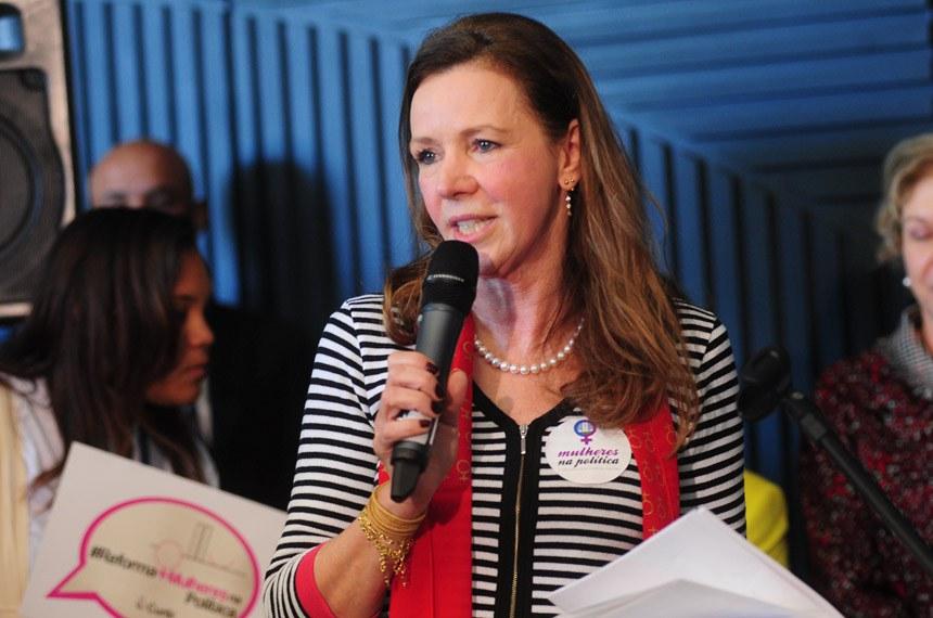 Vanessa Grazziotin (PCdoB-AM) é procuradora da Mulher no Senado