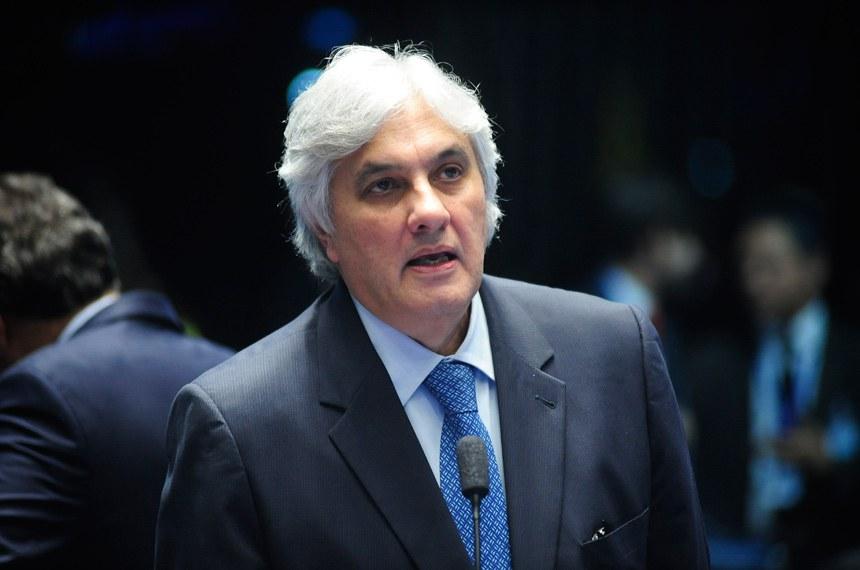 O senador Delcídio do Amaral está preso desde 25 de novembro do ano passado