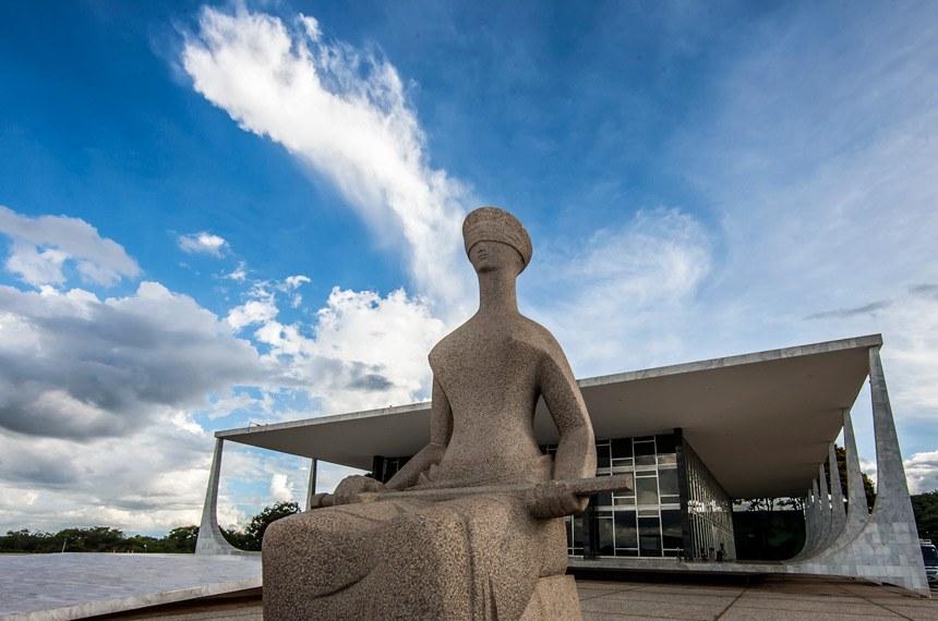 Fachada do Supremo Tribunal Federal, em Brasília