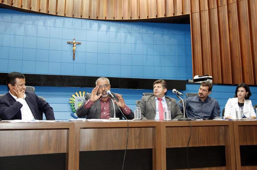 A audiência da CDH ocorreu na Assembleia Legislativa do Mato Grosso do Sul, em Campo Grande.