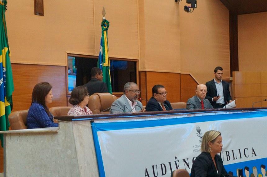 A proposta também foi discutida na quinta-feira (25), na Assembleia Legislativa de Sergipe