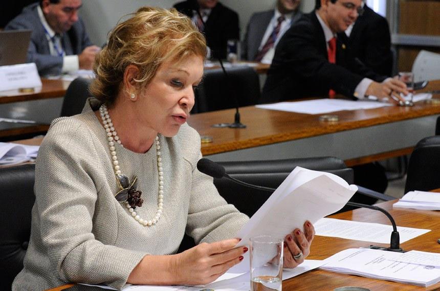 A senadora Marta Suplicy foi relatora do projeto que cria o Dia Nacional do Psicólogo