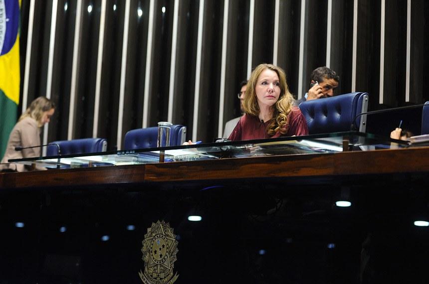 A comunicação foi lida pela senadora Vanessa Grazziotin