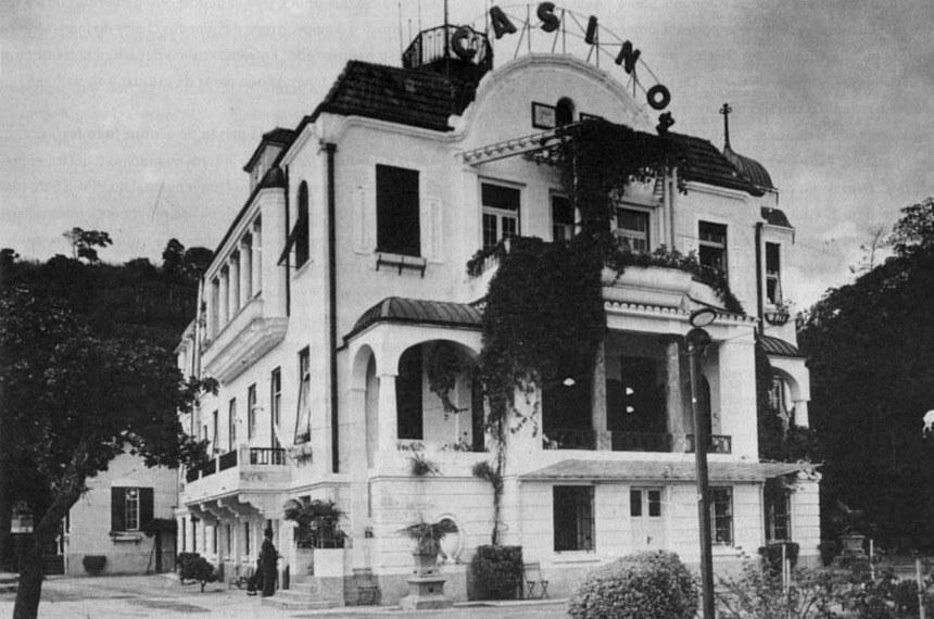 Fachada do antigo Cassino Icaraí (RJ), que deu lugar à sede da reitoria da Universidade Federal Fluminense (UFF)