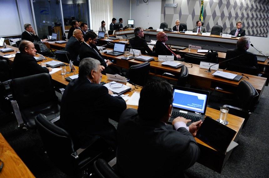 Reunião realizada pela comissão em 26 de outubro do ano passado