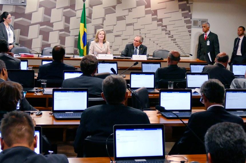 Plenário da Comissão de Assuntos Econômicos