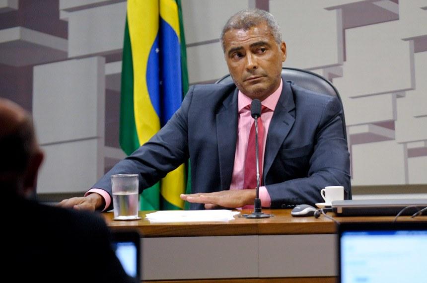 Romário, na presidência da CPI