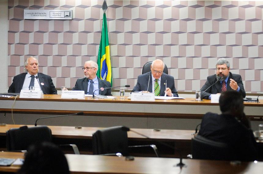 Lasier Martins é relator do PLC 37/2013, que muda o Sistema Nacional de Políticas sobre Drogas (Sisnad)