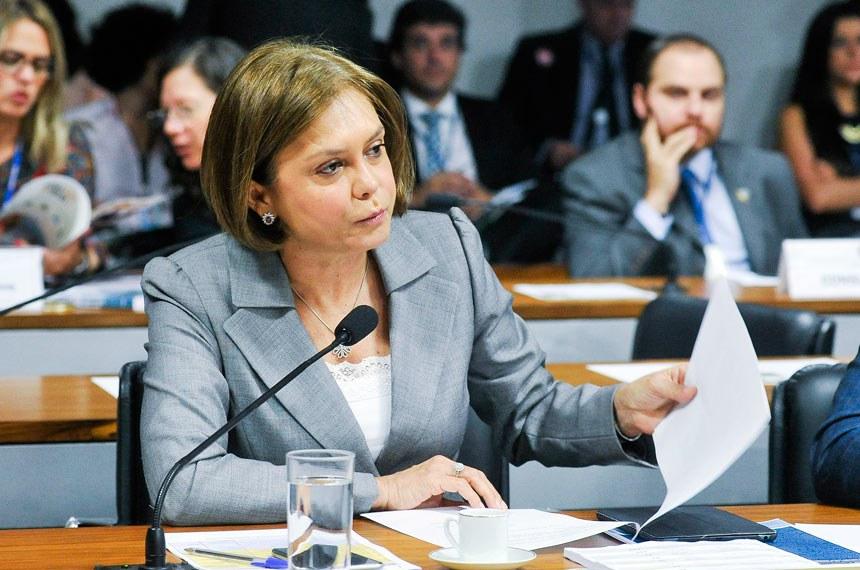 A relatora, senadora Ângela Portela, destacou a contribuição dos ecólogos para a construção e manutenção de um meio ambiente equilibrado