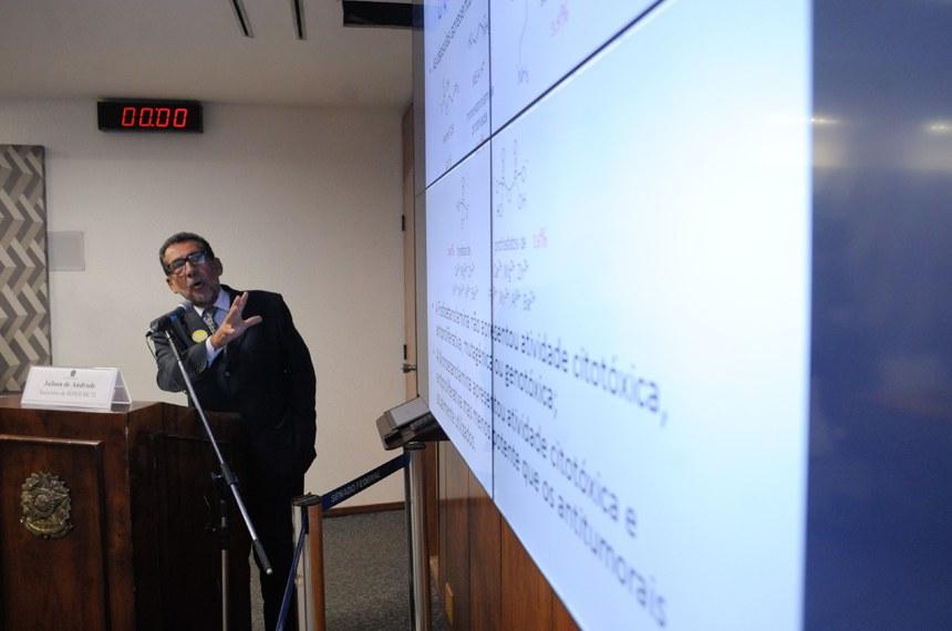 Jailson Bittencourt de Andrade, do Ministério da Ciência e Tecnologia