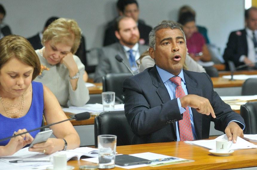 Emenda do relator, senador Romário, permite a atuação como técnico a atletas ou ex-atletas das modalidades que pretendem treinar