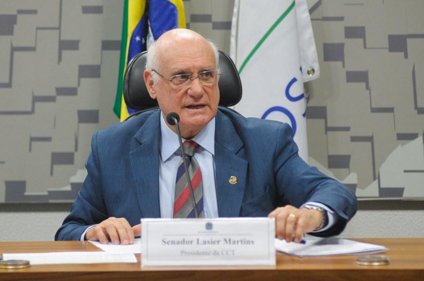 Lasier Martins foi o autor do requerimento de informações