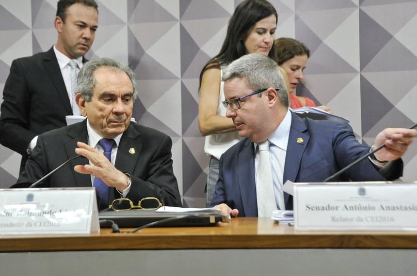 Raimundo Lira foi eleito presidente, e Anastasia indicado relator do processo de impeachment