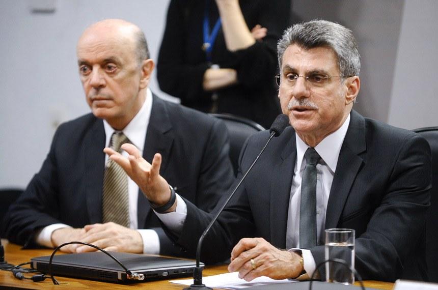Romero Jucá apresentou duas emendas ao projeto de José Serra, para correção de redação e técnica legislativa