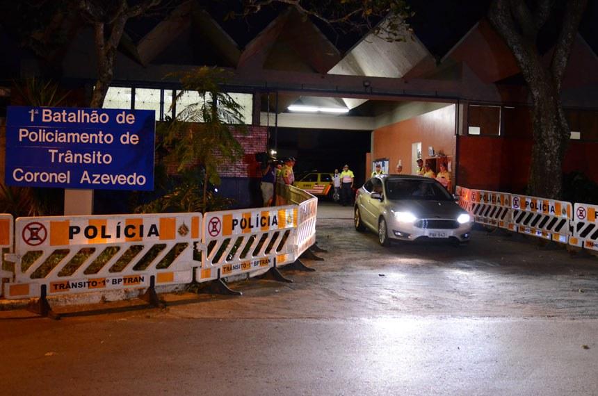 Delcídio do Amaral ficou detido em um batalhão da Polícia Militar do Distrito Federal de onde saiu em 19 de fevereiro