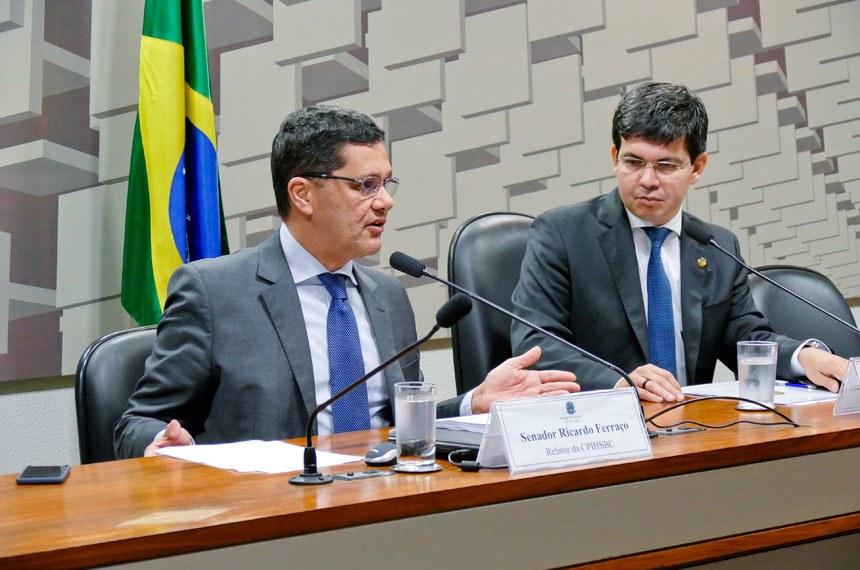 Ferraço disse que a CPI encaminhará cópia de todos os documentos obtidos aos órgãos oficiais de fiscalização e controle