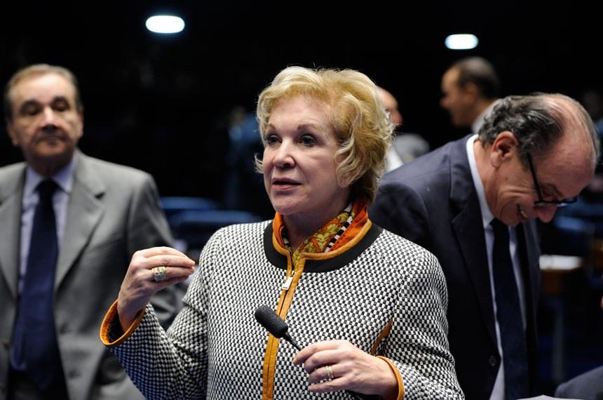 A senadora Marta Suplicy é autora da PEC 43/2012, aprovada em primeiro turno no Plenário