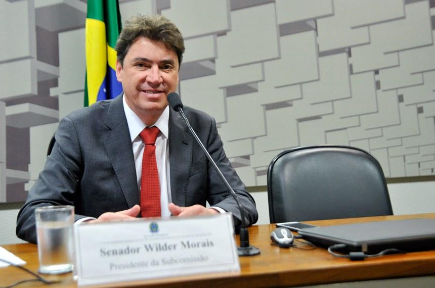 O requerimento para audiência foi apresentado pelo presidente da subcomissão, Wilder Morais (PP-GO)