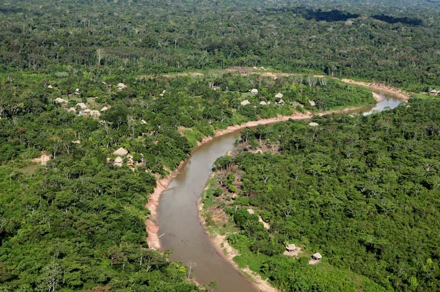 Terra indígena Ashaninka, localizada no município acreano de Marechal Thaumaturgo