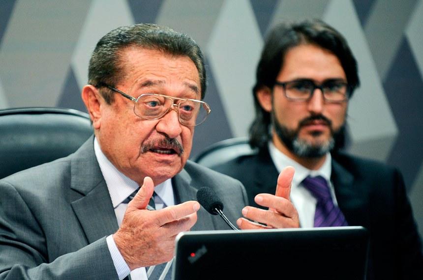 O senador José Maranhão (PMDB-PB) será o relator da Comissão Especial