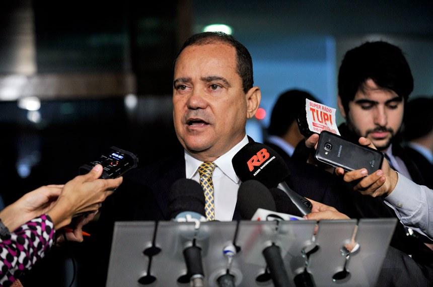 O senador Vicentinho Alves (PR-TO) será o presidente da Comissão Especial de análise do anteprojeto