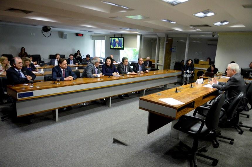 Reunião, em 6 de julho, de reinstalação da Comissão Especial do Desenvolvimento Nacional, que continua sob a presidência de Otto Alencar (PSD-BA)