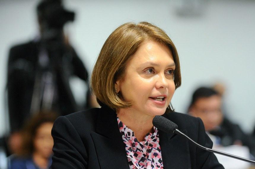 A senadora Ângela Portela foi a relatora do projeto na Comissão de Constituição, Justiça e Cidadania (CCJ)