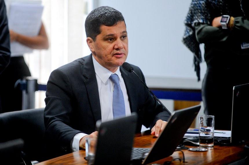 O senador Ricardo Ferraço foi o relator do PLC 69/2014 na Comissão de Constituição e Justiça