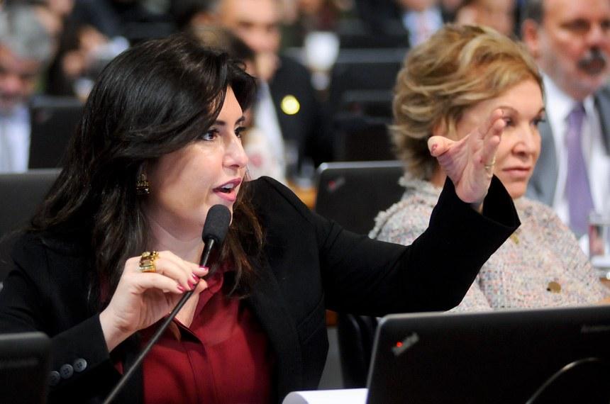 Senadora Simone Tebet, relatora, acredita que a medida contribuirá para profissionalizar a gestão pública