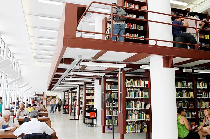 Biblioteca pública Mário de Andrade, em São Paulo