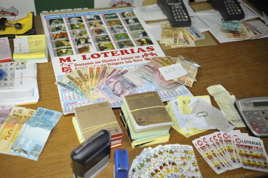 Resultado de apreensão de exploração do 'jogo do bicho', loteria hoje considerada contravenção penal