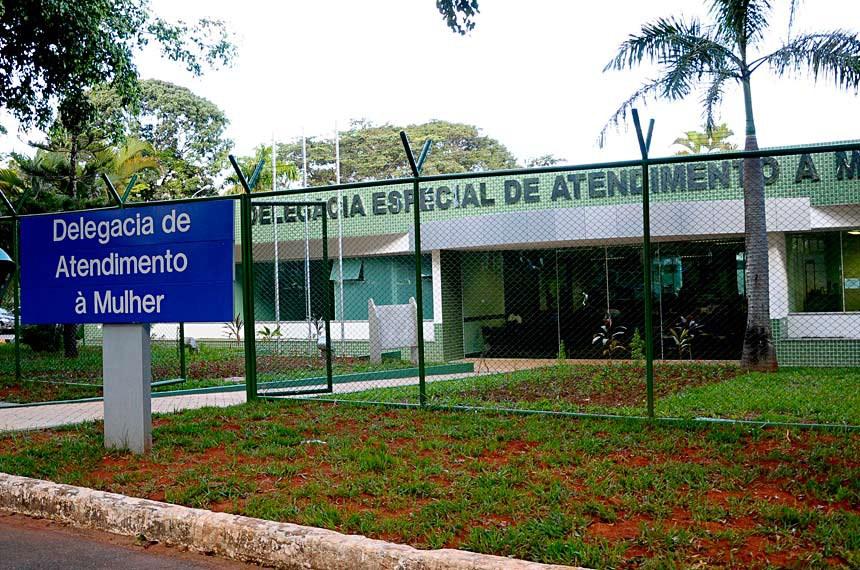 Delegacia Especial da Mulher em Brasília-DF.