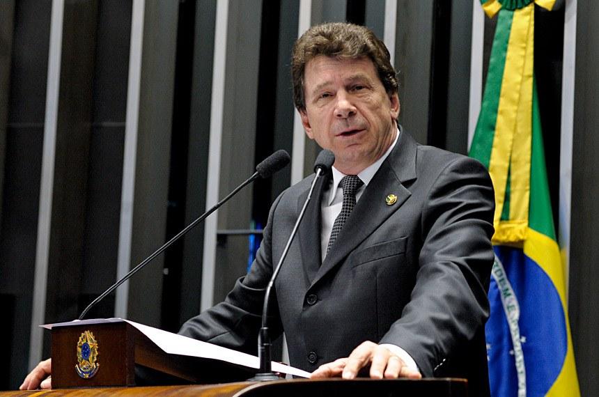 Plenário do Senado Federal durante sessão deliberativa ordinária.   Em discurso, senador Ivo Cassol (PP-RO).   Foto: Waldemir Barreto/Agência Senado