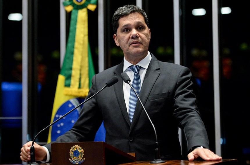 Plenário do Senado durante sessão deliberativa ordinária.  Em discurso, senador Ricardo Ferraço (PSDB-ES).  Foto: Jefferson Rudy/Agência Senado