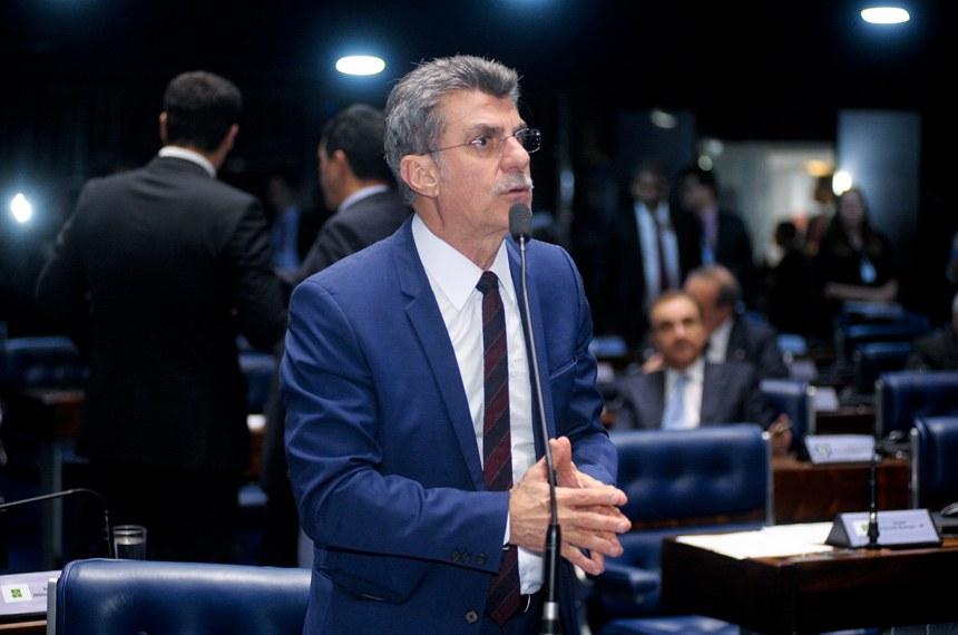 Resultado de imagem para lider do governo romero juca