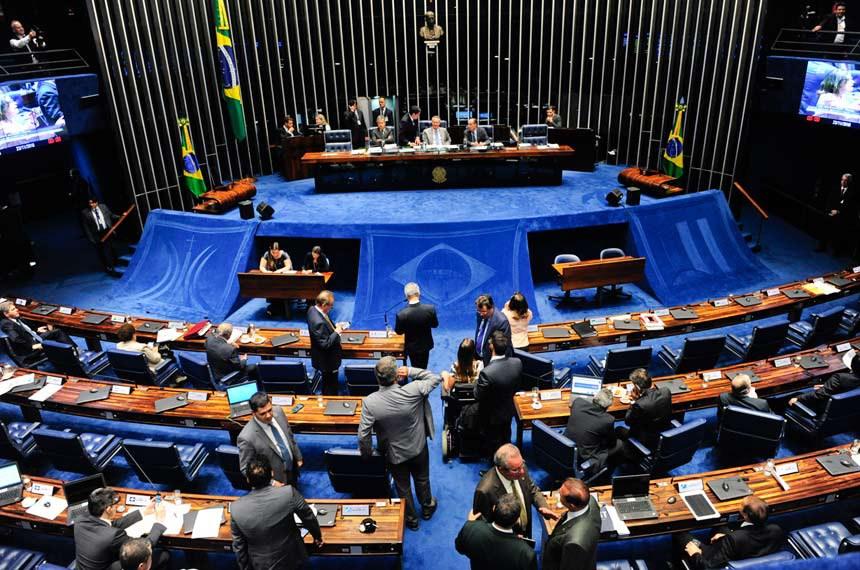 Plenário do Senado durante sessão deliberativa extraordinária.   Foto: Jonas Pereira/Agência Senado