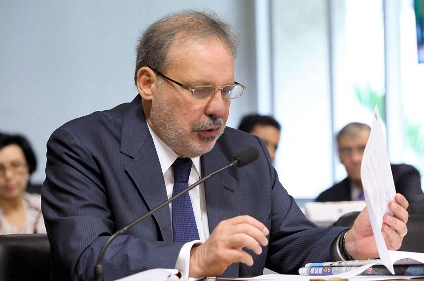 Comissão de Relações Exteriores e Defesa Nacional (CRE) realiza reunião para apreciação de 6 acordos internacionais.Foto: Pedro França/Agência Senado