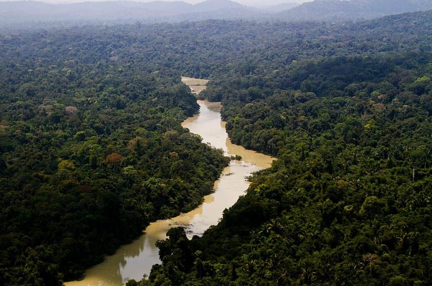 O Parque Nacional do Jamaxim, no Pará, é uma das UCs apoiadas pelo Arpa © Leonardo Milano/ICMBio