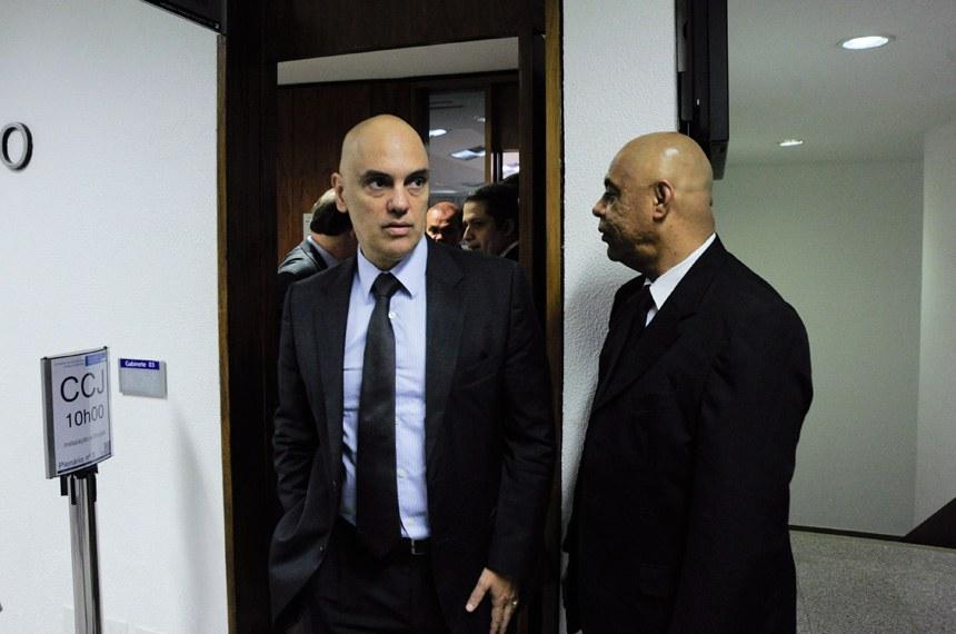 Alexandre de Moraes, indicado pelo presidente Michel Temer para ocupar o lugar de Teori Zavascki (que morreu no mês passado) no Supremo Tribunal Federal (STF).    Foto: Geraldo Magela/Agência Senado
