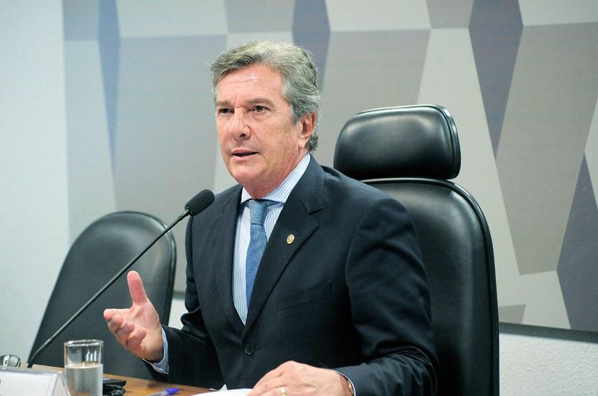Fernando Collor (PTC-AL) foi eleito por aclamação
