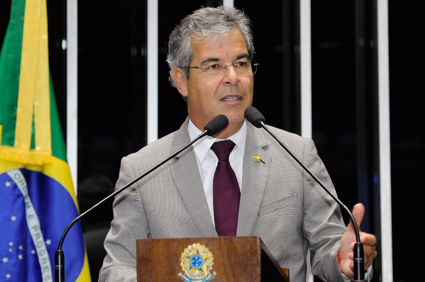 Plenário do Senado Federal durante sessão deliberativa ordinária.  Em discurso, senador Jorge Viana (PT-AC).  Foto: Waldemir Barreto/Agência Senado