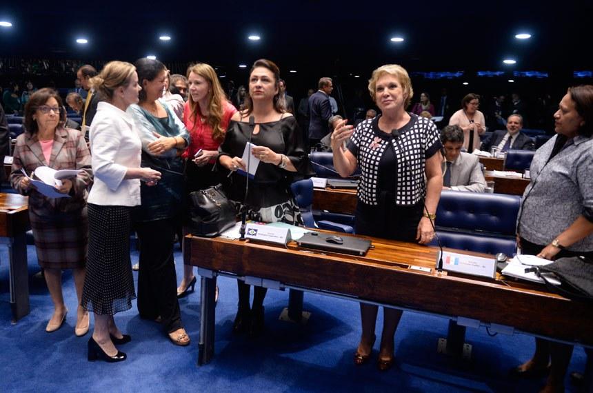 Projeto teve relatoria de Lídice da Mata (PSB-BA) e Marta Suplicy (PMDB-SP)  e ganhou apoio da bancada feminina do Senado