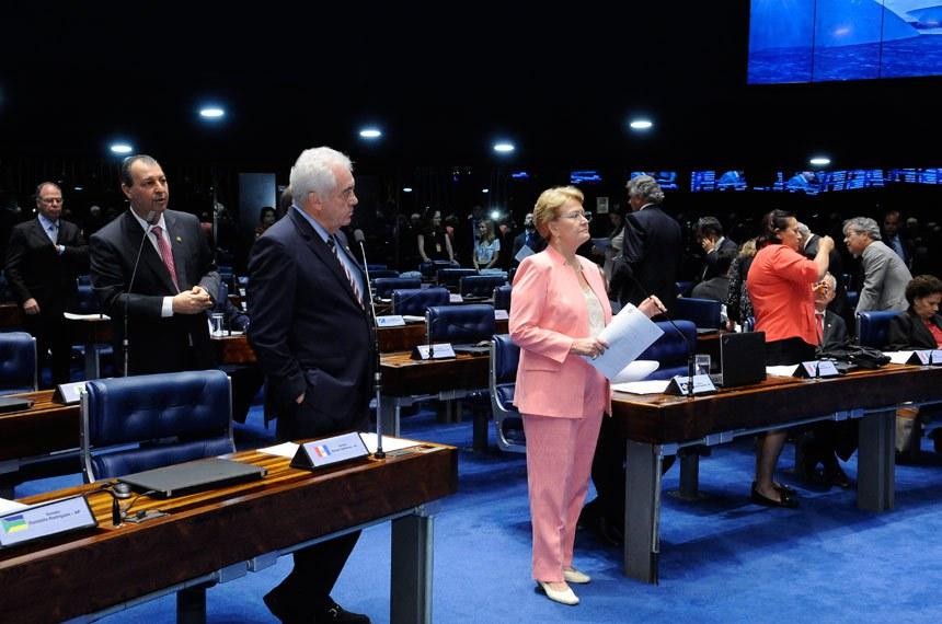 Plenário do Senado durante sessão deliberativa ordinária.  Em pronunciamento, senador Omar Aziz (PSD-AM);    Foto: Waldemir Barreto/Agência Senado