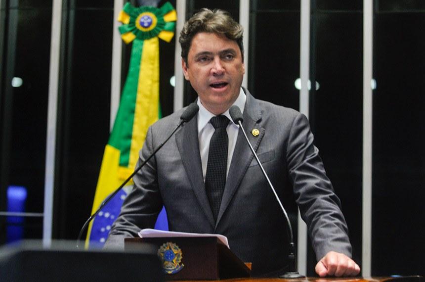 Plenário do Senado durante sessão deliberativa ordinária.  Em discurso, senador Wilder Morais (PP-GO).  Foto: Moreira Mariz/Agência Senado