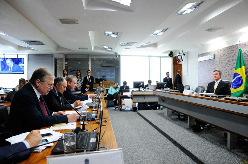 Comissão de Relações Exteriores e Defesa Nacional (CRE)  Foto: Geraldo Magela/Agência Senado