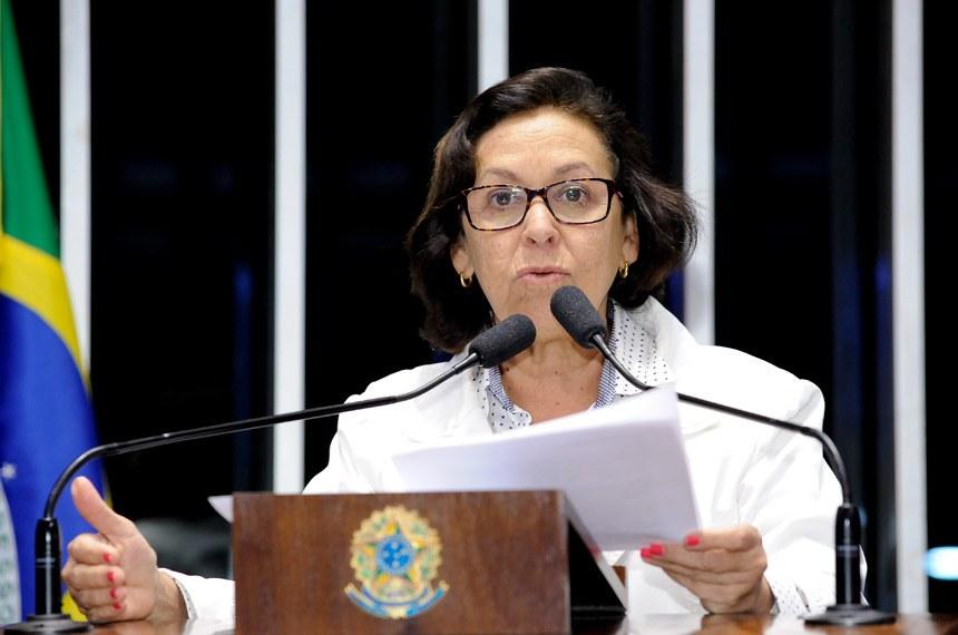 Plenário do Senado durante sessão deliberativa ordinária.Em discurso, senadora Lídice da Mata (PSB-BA).Foto: Waldemir Barreto/Agência Senado