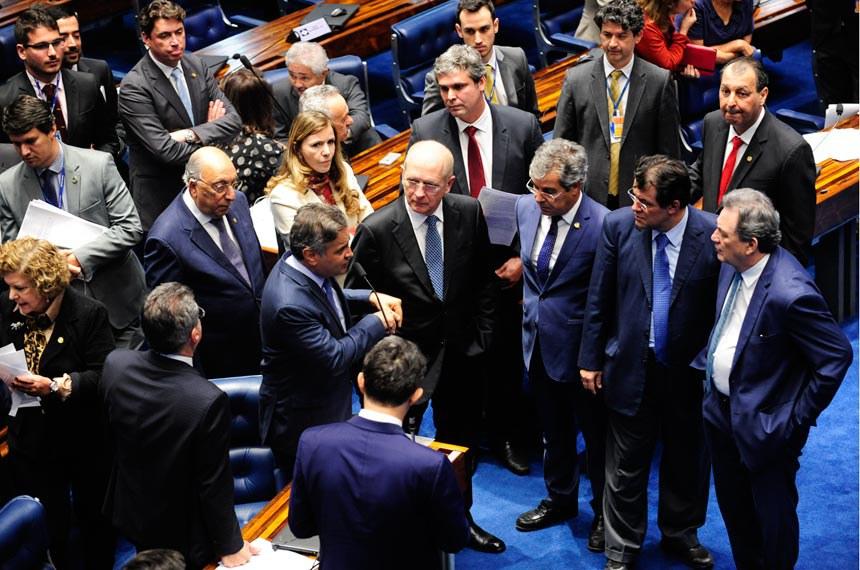 Plenário do Senado durante sessão deliberativa ordinária. *Ordem do dia  Em pronunciamento, senador Aécio Neves (PSDB-MG).  Foto: Jonas Pereira/Agência Senado